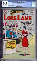 Superman's Girlfriend Lois Lane #53 CGC 9.6 ow/w