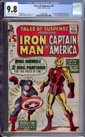 Tales of Suspense #59 CGC 9.8 ow/w