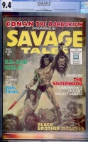 Savage Tales #1 CGC 9.4 ow/w