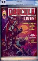 Dracula Lives #6 CGC 9.8 w