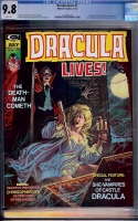Dracula Lives #7 CGC 9.8 w