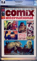Comix International #1 CGC 9.4 w