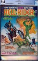Hell Rider #1 CGC 9.8 w