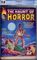 Haunt of Horror #1 CGC 9.8 ow/w