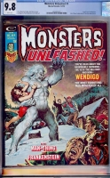 Monsters Unleashed #9 CGC 9.8 w