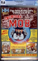 In The Days of the Mob #1 CGC 9.6 w