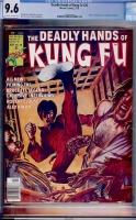 Deadly Hands of Kung Fu #26 CGC 9.6 ow/w