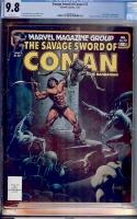 Savage Sword of Conan #72 CGC 9.8 w