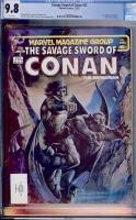 Savage Sword of Conan #83 CGC 9.8 w
