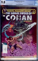 Savage Sword of Conan #96 CGC 9.8 w