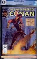 Savage Sword of Conan #186 CGC 9.6 w
