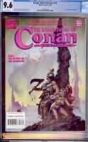 Savage Sword of Conan #218 CGC 9.6 w