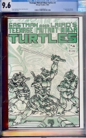 Teenage Mutant Ninja Turtles #4 CGC 9.6 ow/w