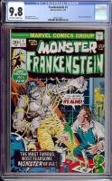 Frankenstein #1 CGC 9.8 ow/w