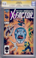 X-Factor #6 CGC 9.8 w CGC Signature SERIES