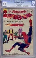 Amazing Spider-Man #10 CGC 9.4 ow/w