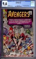 Avengers #12 CGC 9.6 ow