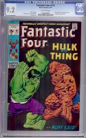 Fantastic Four #112 CGC 9.2 ow/w