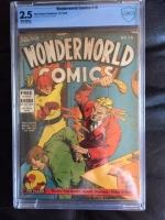 Wonderworld Comics #18 CBCS 2.5 ow