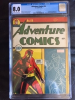 Adventure Comics #66 CGC 8.0 ow/w