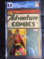 Adventure Comics #66 CGC 8.0 ow/w