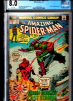 Amazing Spider-Man #122 CGC 8.0 w