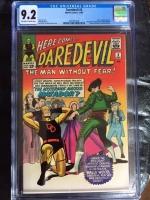 Daredevil #5 CGC 9.2 ow/w