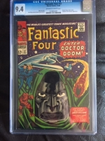 Fantastic Four #57 CGC 9.4 ow/w