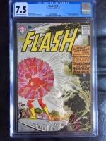 Flash #110 CGC 7.5 cr/ow