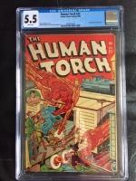 Human Torch #22 CGC 5.5 w