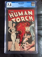 Human Torch #30 CGC 7.5 ow/w