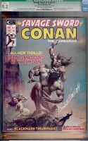Savage Sword of Conan #4 CGC 9.2 ow/w