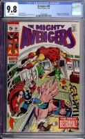 Avengers #66 CGC 9.8 w