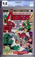 Avengers #130 CGC 9.8 w