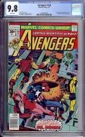 Avengers #156 CGC 9.8 w