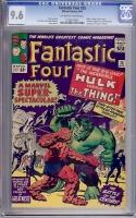 Fantastic Four #25 CGC 9.6 ow/w