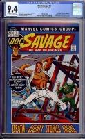 Doc Savage #1 CGC 9.4 ow/w
