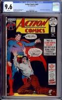 Action Comics #409 CGC 9.6 w