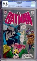 Batman #222 CGC 9.6 w
