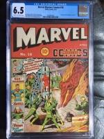 Marvel Mystery Comics #18 CGC 6.5 cr/ow