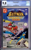 Batman Family #12 CGC 9.8 w