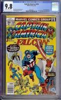 Captain America #218 CGC 9.8 ow/w