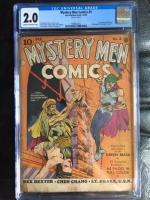 Mystery Men Comics #5 CGC 2.0 cr/ow