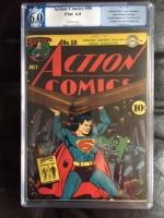 Action Comics #50 CGC 6.0 w