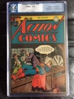 Action Comics #85 CGC 6.5 w