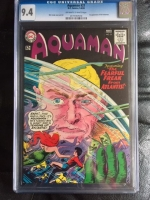 Aquaman #21 CGC 9.4 ow/w