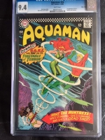 Aquaman #26 CGC 9.4 w