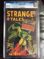 Strange Tales #87 CGC 6.5 cr/ow