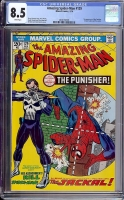 Amazing Spider-Man #129 CGC 8.5 w