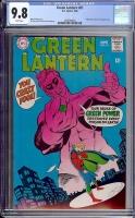 Green Lantern #61 CGC 9.8 w